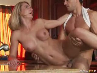 Busty Doxy Brenda James Gets Drilled Nice And Hard From Her Sexy Back