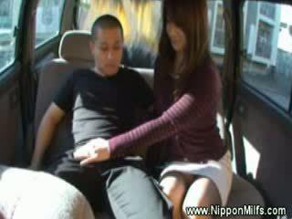 Innocent asian strokes a strangers dick