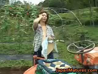Chisato shouda á châu trưởng thành gà con gets part6