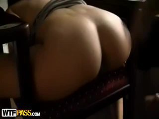 Sexy Miss Presents Tits And Fucks For Cash