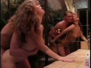 Nikki Dial Marc Wallice in retro movie