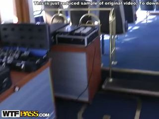 Amateur public porn on a ferry Video