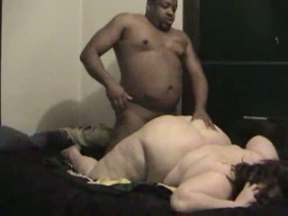 BBW lover and drills her pussy furiously in doggystyle Video
