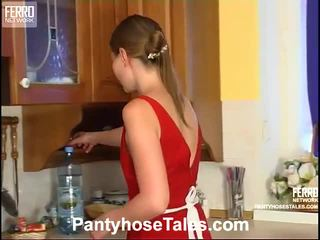 Nellie And Adrian Great Pantyhose Movie