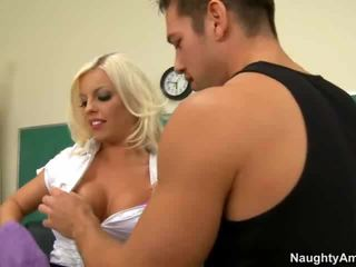 My Teacher Mrs. Britney Amber Is Very Hot