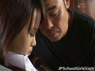 Haruka aida 漂亮 亞洲人 女學生