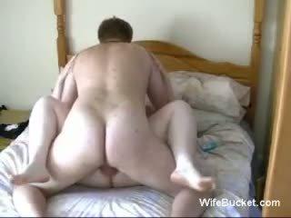 chubby couple homemade fuck