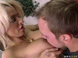 Ribald Milf Holly Halston Pleases A Firm Cock In Wagerween Her Giant Meat Bags