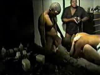 Homemade Interracial Mature Gangbang