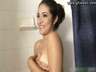 Hot Pornstar Andrea Kelly giving bj