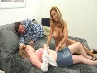 group sex polna, velike joške svež, fun blowjob glej
