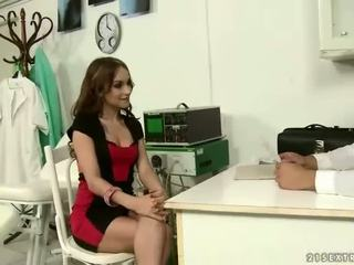 Doctor punishing and fucking his sexy patient