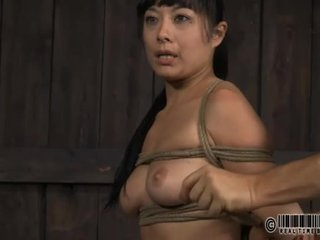 Facial torture for sweet chick