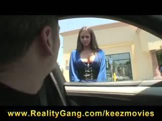 Ištvirkęs big-tit kūrva porno žvaigždė rachel roxxx fucks strangers big-dick