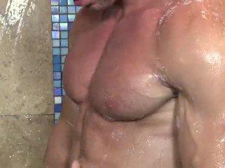 голям мускул, пълен соло проверка, виждам jackoff който и да е