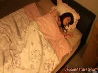 Horny jap mature models sucking
