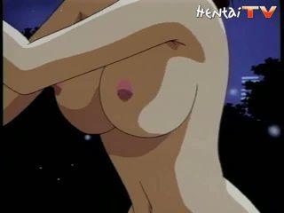 大きい 乳首 アニメ ポルノの ブルネット