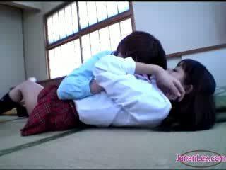 drăguț, japonez, lesbiene, exotic