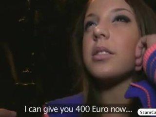 Rjavolaska hottie anita gains denar in gets zajebal s a fake agent