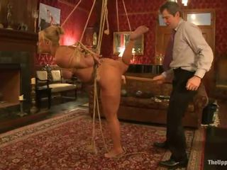 Dazzling White Haired Siren Mellanie Monroe Is Being Tortured Together About CHerry