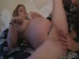 Pregnant Cassie fuck at 9th