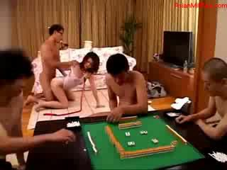 Milf In White Lolly Pop Collar On Neck Sucking boners Fucked By 4 doll Guys On The Carpet In The Room