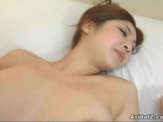 Asian Goddess Kousaka Anna Receives A Hot Ccreampie