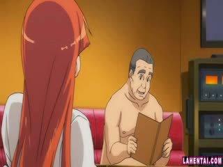 Hentai beyb slammed by older man