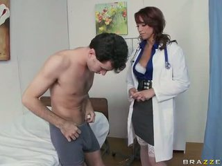 Hot Doctor Nicki Hunter Double Penetrations At Hospital Video