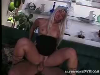 Blonde Bombshell Get Her Pussy And Ass Fuck By A Big Cock