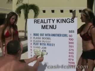 Average chicks bought for cash into performing on cam