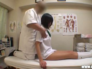 Schoolgirl seduced by masseur 1