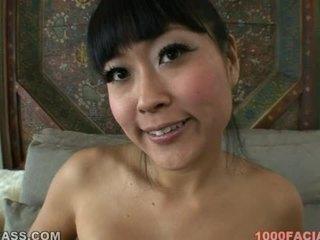 Yuki mori ázsiai arcra élvezés