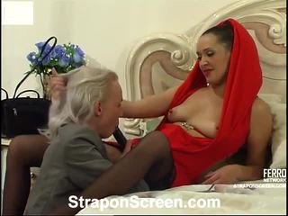 Helena And Randolph Mindblowing Strapon Movie