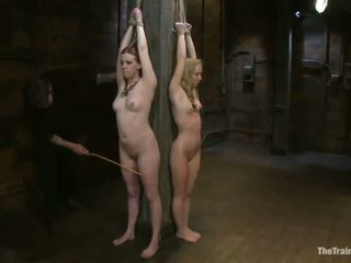 Ginger And Blonde Pussys Have Tortured In Pain Enjoyment Vid