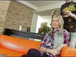 blondínky, priateľka, zející assholes, deflorovat teen asses