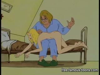Innocent meitenes seduced un spanked