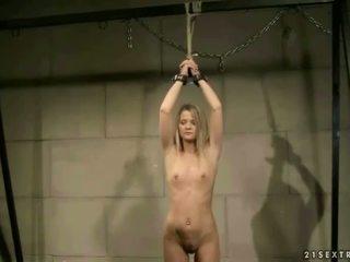 고급 선생 punishing 그녀의 학생