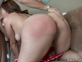 Large Butted Ava Rose Pleasures Her Lover's Penis In Her Warm Steamy Face Hole