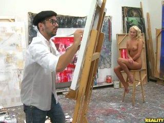 An artist hľadáte pre a modelka na paint