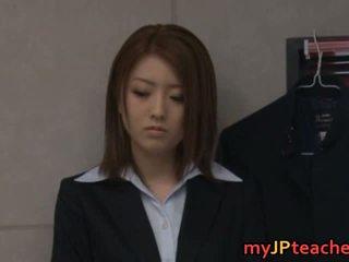 Ai haneda 아시아의 선생 내부 섹시한 비디오