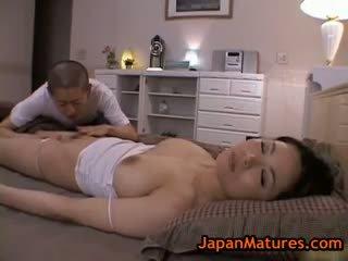 Mature Bigtit Miki Sato Masturbating Part4