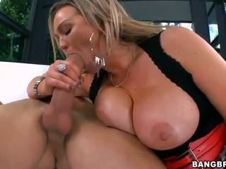 fucking, sucking cock, big boobs