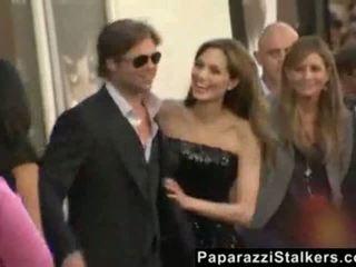 Angelina jolie en la salt rojo carpet