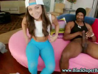 كبير أسود كوك hottie rides كوك