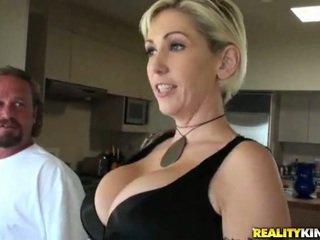 reality, big tits, cock ride, mature