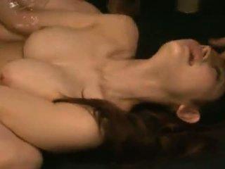 Smut Azumi Mizushima Has Her Mouth And Bush Banged Brutally