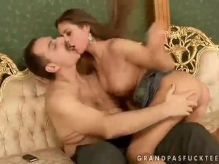 Cathy Heaven Fucking With Old Man