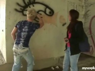 Graffitti artist