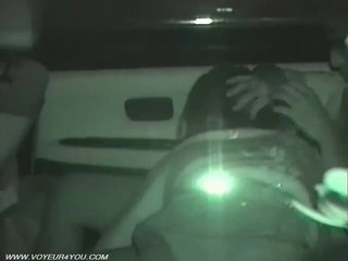 Aizmugurējais sēdeklis automašīna sekss voyeurism